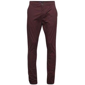 !Solid, Pantaloni chino vișinii !Solid Joy Crisp