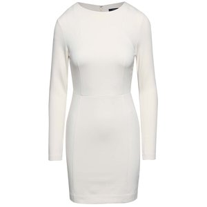 French Connection, Rochie mini French Connection Lula crem