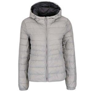 Jachetă argintie ONLY Tahoe matlasată