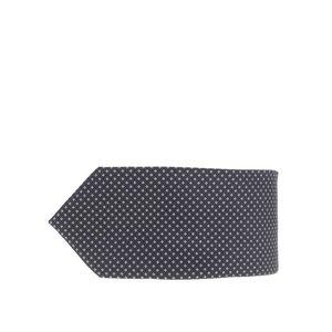 Cravată neagră Burton Menswear London cu model discret