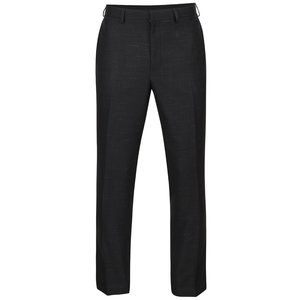 Pantaloni negri Burton Menswear London cu model discret la pretul de 219.99