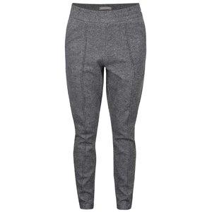YAYA, Pantaloni sport gri YAYA cu talie înaltă