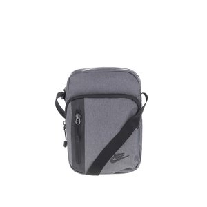 Geantă crossbody gri Nike Core Small cu model discret