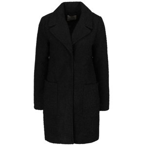 Vero Moda, Palton negru Vero Moda Trudy cu buzunare mari