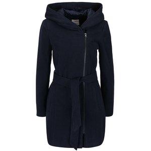Palton bleumarin Vero Moda Joyce Daisy cu glugă