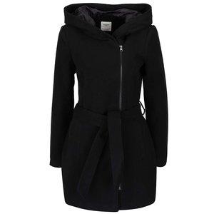 Palton negru Vero Moda Joyce Daisy cu glugă la pretul de 359.99