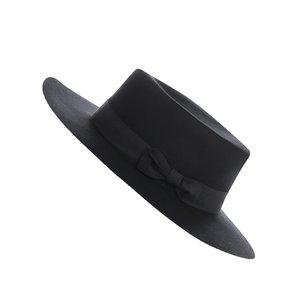 Pălărie neagră din lână Vero Moda Alice