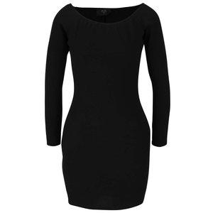 Rochie neagră mulată AX Paris cu mâneci lungi