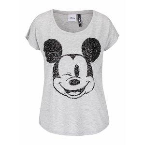Tricou gri Haily's Mickey cu print