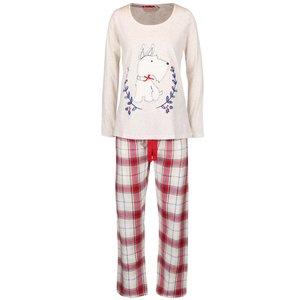 Pijamale roșu-crem Dorothy Perkins
