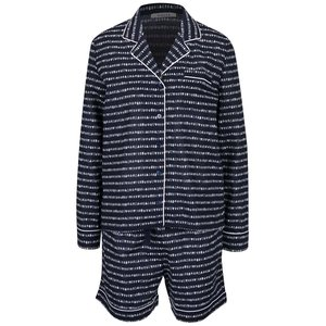 Pijamale bleumarin Pieces Wonder cu model