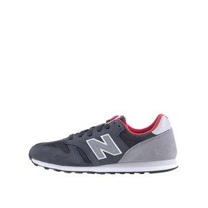 New Balance, Pantofi sport New Balance 373 negru cu gri