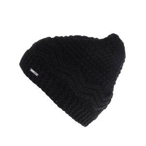 Căciulă neagră Roxy Stay tricotată