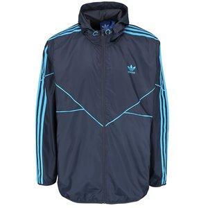 adidas Originals, Jachetă albastră adidas Originals cu glugă
