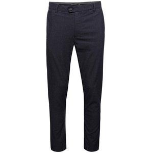 Pantaloni albastru închis Burton Menswear Lodon slim fit