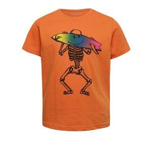 Tricou portocaliu Quiksilver pentru băieți