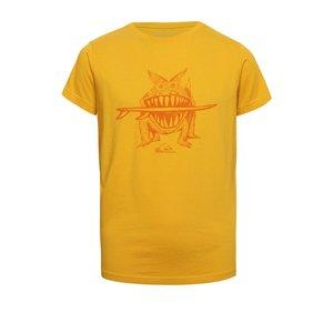 Tricou galben Quiksilver pentru băieți