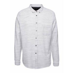 Cămașă crem Burton Menswear London din bumbac cu model discret la pretul de 169.99