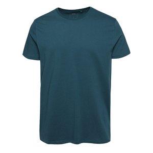 Tricou albastru petrol Burton Menswear London din bumbac