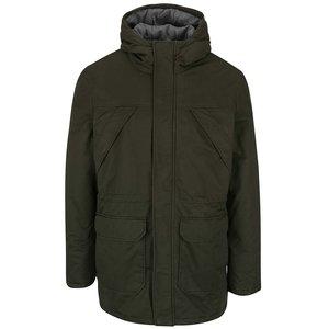 Jachetă verde închis ONLY & SONS Ovant cu glugă la pretul de 449.99