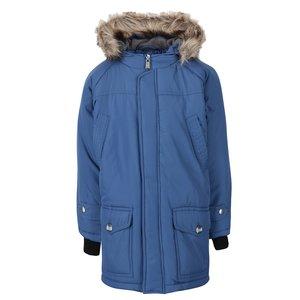 Jachetă lungă albastră North Pole Kids pentru băieți