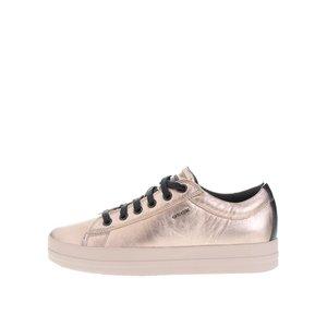 Pantofi sport culoarea bronzului Geox Hidence