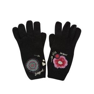 Mănuși Desigual Yeah!!! negre