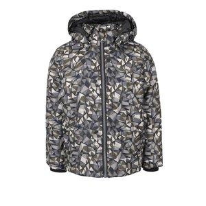 Jachetă kaki name it Mellon cu imprimeu pentru fete