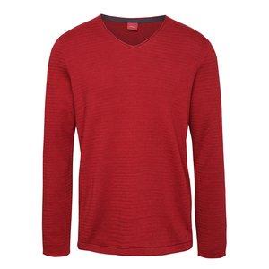 s.Oliver, Bluză roșie s.Oliver din bumbac