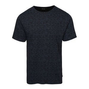 ONLY & SONS, Tricou negru ONLY & SONS Ancher din bumbac cu print