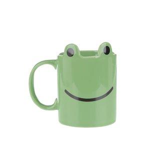 Gift Republic, Cană verde Gift Republic în formă de broască
