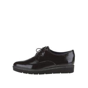 Pantofi Negri Tamaris Luciosi