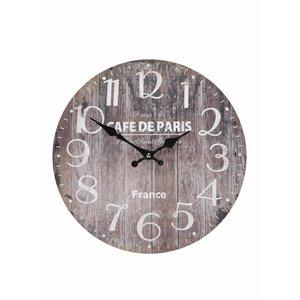 Ceas din lemn Dakls maro