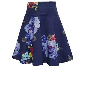 Fustă albastru închis Tom Joule Jen cu imprimeu floral pentru fete