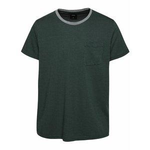Tricou verde închis Burton Menswear London cu buzunar la piept la pretul de 104.99