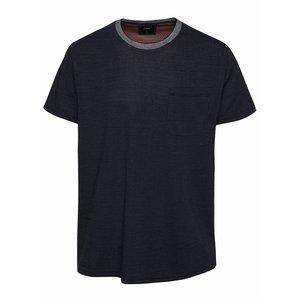 Tricou albastru închis Burton Menswear London cu buzunar la piept la pretul de 104.99