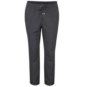 Pantaloni gri ONLY Poppy cu model discret