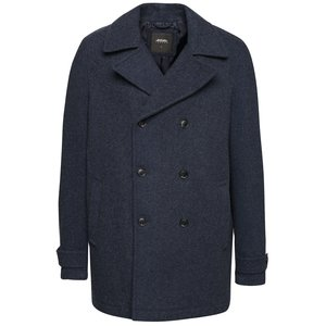 Burton Menswear London, Pardesiu bleumarin Burton Menswear London cu buzunare laterale