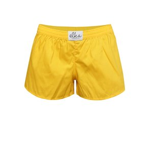 Boxeri de damă El.Ka Underwear galbeni