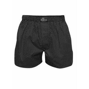 Boxeri El.Ka Underwear negri cu model