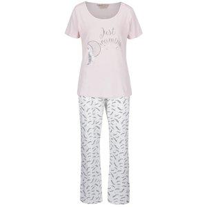 Pijamale roz pal Dorothy Perkins cu model