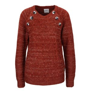 Vero Moda, Pulover roșu cărămiziu Vero Moda Emma
