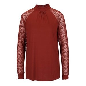 Vero Moda, Bluză roșu cărămiziu Vero Moda Luna