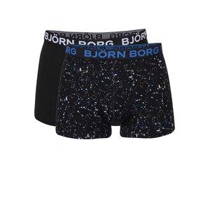 Björn Borg, Set de 2 boxeri negri Björn Borg