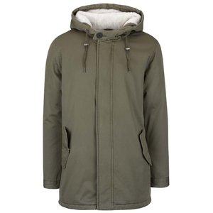 Jachetă verde închis ONLY & SONS Anza cu glugă la pretul de 281.25