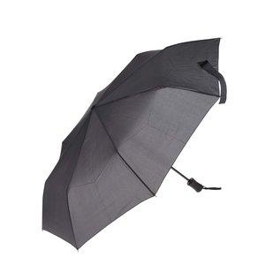 Umbrelă gri închis Derby cu model discret