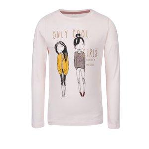 Bluză roz pal name it Katty cu print pentru fete la pretul de 59.99