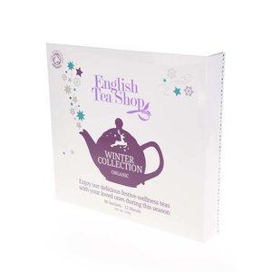 Cutie cadou albă de ceai englezesc English Tea Shop