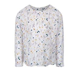 Bluză crem name it Welludi cu model înflorat pentru fete
