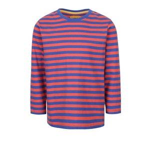 Bluză albastru & roșu 5.10.15. din bumbac cu model în dungi pentru băieți